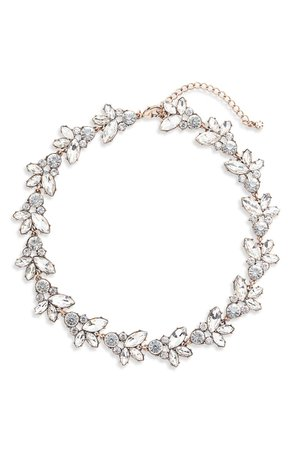 Knotty Crystal Statement Collar Necklace | Nordstrom