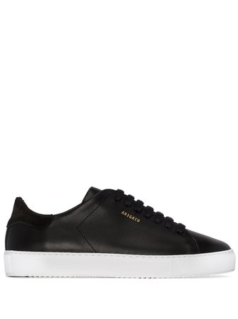 Axel Arigato Clean 90 Low-Top Sneakers 98122 Black | Farfetch
