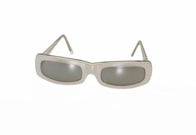 Claude Montana silver glasses | Etsy