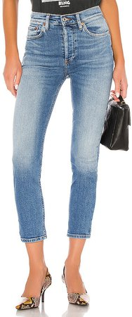 High Rise Ankle Crop. - size 28 (also