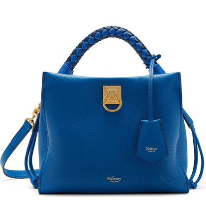 Mulberry Iris Leather Top Handle Bag | Nordstrom
