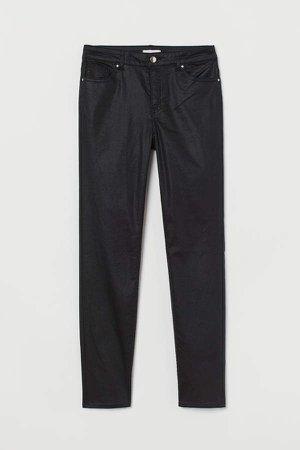 Super Slim-fit Pants - Black