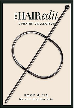 The Hair Edit Gunmetal Hoop & Pin Barrette | Ulta Beauty