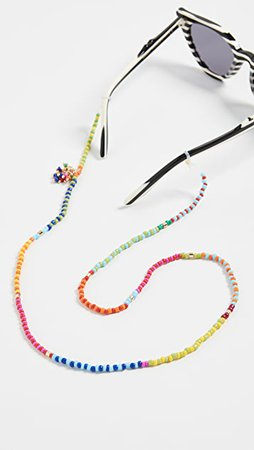 Roxanne Assoulin Patchwork Beaded Eyewear Chain | SHOPBOP