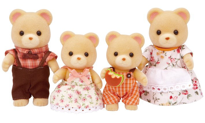 Cuddle Bear Family | Calico Critters