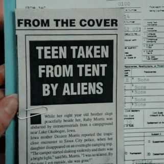 Teen Taken By Aliens