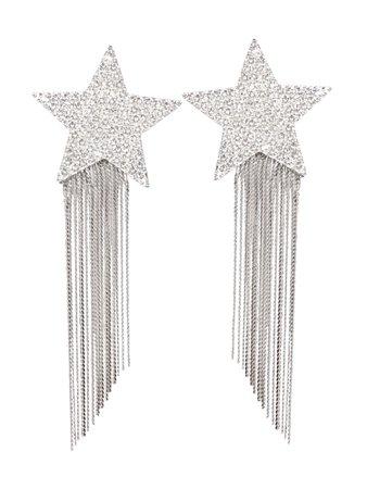 Saint Laurent Clip Earrings