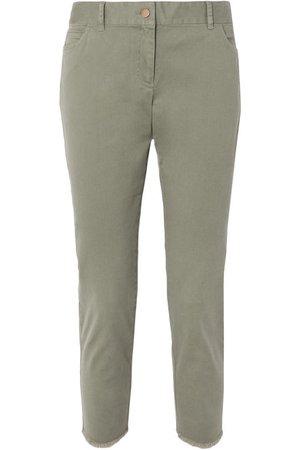 HATCH | Carson cotton-blend twill pants | NET-A-PORTER.COM