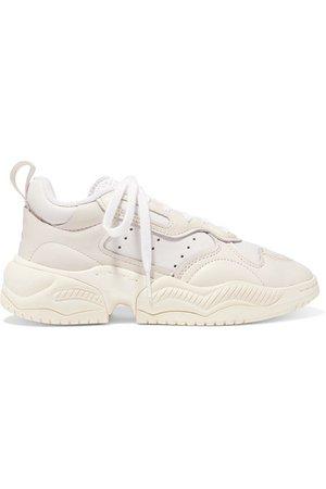 adidas Originals | Supercourt RX leather sneakers | NET-A-PORTER.COM