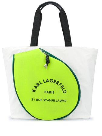 Karl Lagerfeld Rue St Guillaume Tennis Tote - Farfetch