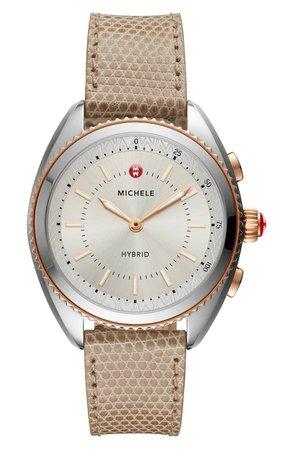 MICHELE Hybrid Tracker Smart Watch, 38mm | Nordstrom