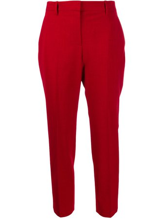 Theory Cropped Tailored Trousers Aw19 | Farfetch.Com