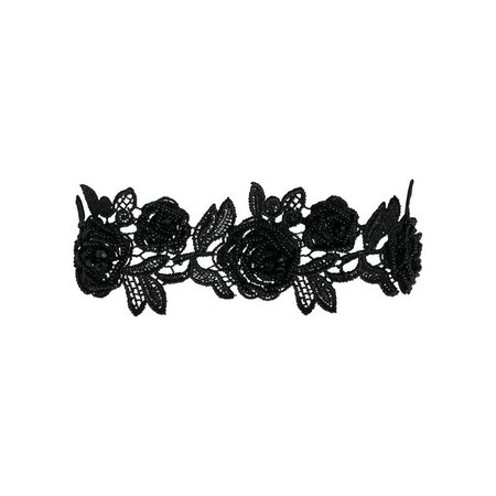 Collier ras du cou black Pieces | La Redoute