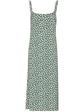 Reformation Avalon floral-print Midi Dress - Farfetch