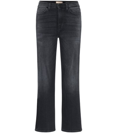 Alexa Cropped High-Rise Jeans - 7 For All Mankind | Mytheresa