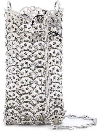 chain link shoulder bag