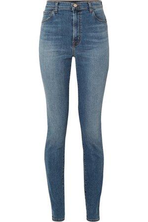 "J Brand | Carolina 32"" high-rise skinny jeans | NET-A-PORTER.COM"