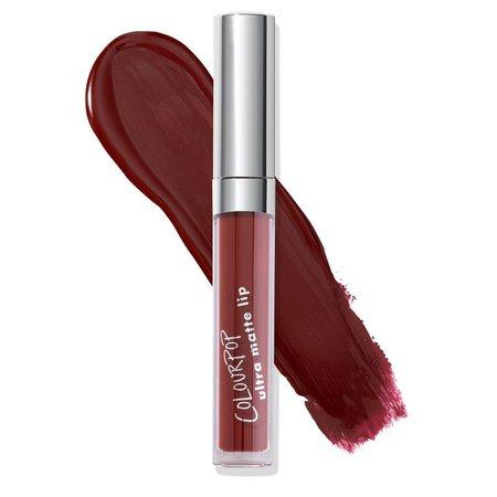 *clipped by @luci-her* LAX Ultra Matte Liquid Lipstick   ColourPop