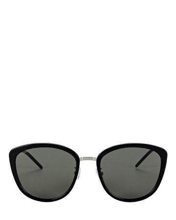 Saint Laurent Soft Cat Eye Sunglasses | INTERMIX®