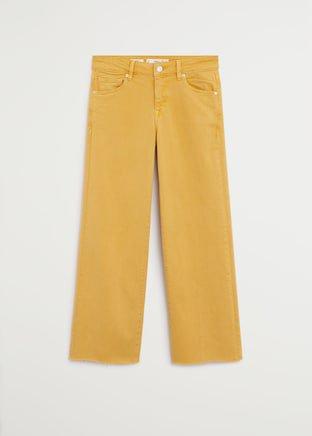 Normal bel culotte jean pantolon - Kadın | Mango Türkiye