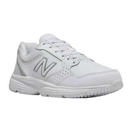 New Balance 411 Womens Walking Shoes, Color: White - JCPenney
