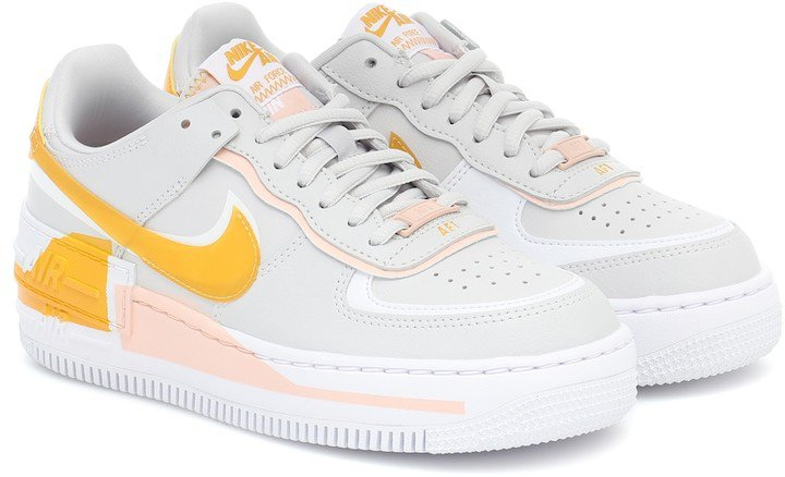 Air Force 1 Shadow SE leather sneakers