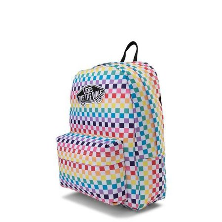 Vans Rainbow Check Realm Backpack | Journeys