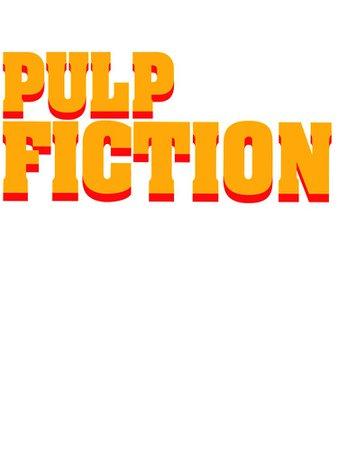 """Pulp Fiction Logo"" Kids T-Shirt by Robin- | Redbubble"