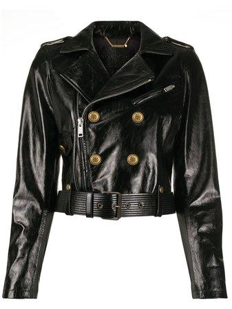 Givenchy, leather biker jacket
