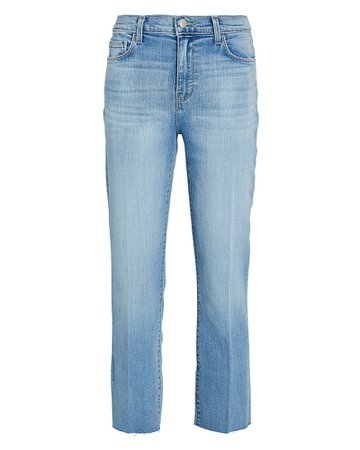 L'Agence Sada Slim Straight-Leg Jeans | INTERMIX®