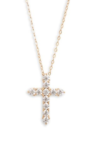Nadri Cross Pendant Necklace | Nordstrom