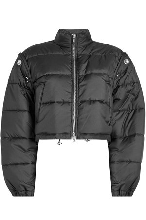 Quilted Bomber Jacket with Detachable Sleeves Gr. M