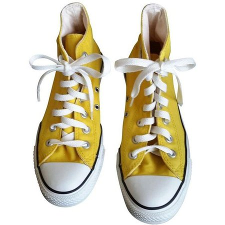 Yellow Cloth Trainers CONVERSE