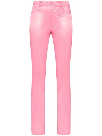 Maisie Wilen Galleria Latex Trousers - Farfetch