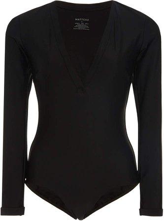 Matteau Stretch-Jersey Swimsuit