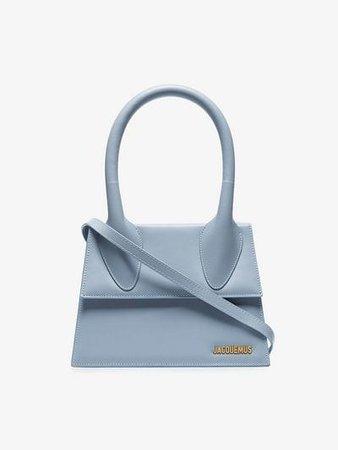 Jacquemus Pale blue Le Grand Chiquito bag   Browns