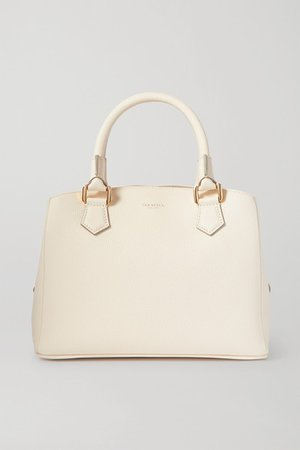 Serapian | Luna mini textured-leather tote | NET-A-PORTER.COM