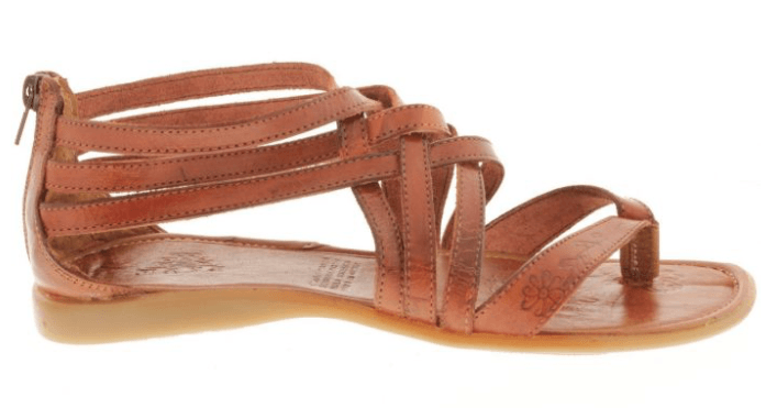 Women's Gladiator Leather Huaraches Mexican Brown Sandals Hand Woven