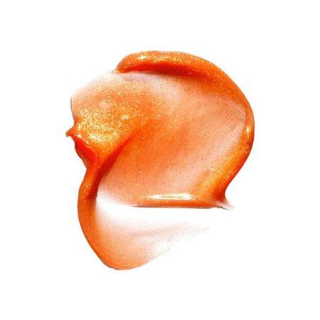 peach make up cream smudge