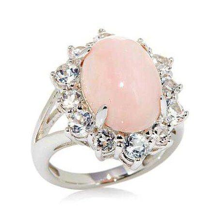 Rose Quartz Ring
