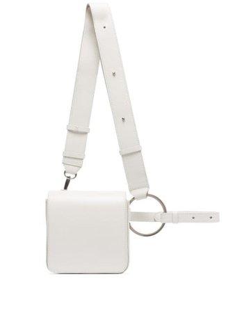 Osoi Holring Leather Belt Bag 20SB0200201 White | Farfetch