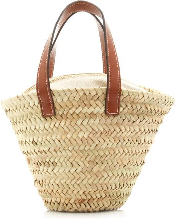 Oualidia Straw Mini Tote Bag
