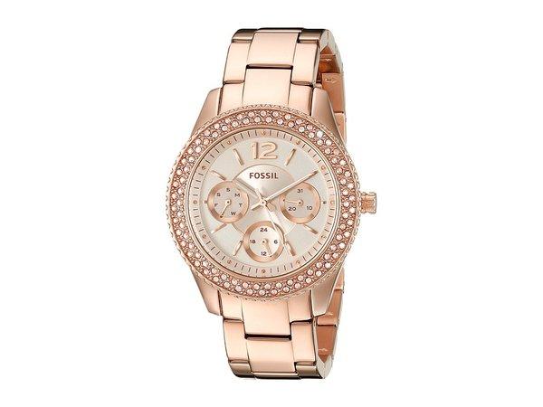 Fossil - Stella - ES3590 (Rose Gold) Watches