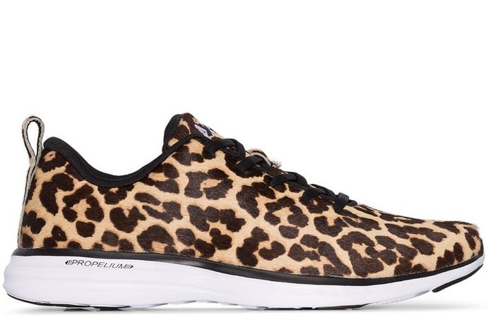 Iconic pro leopard-print sneakers