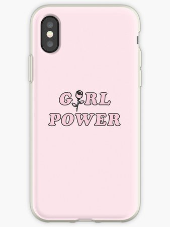 """Girl Power"" iPhone Case"