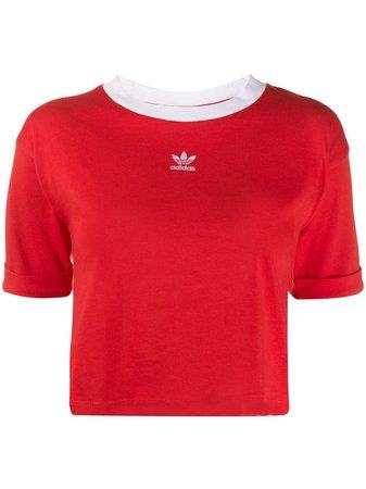 Adidas Cropped T-shirt - Farfetch
