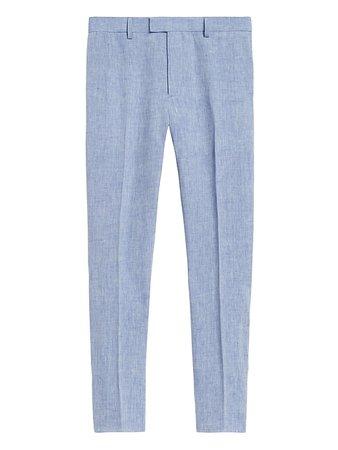 Slim Tapered Linen Suit Pant | Banana Republic