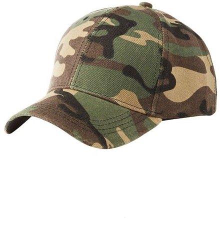 plain camo hat