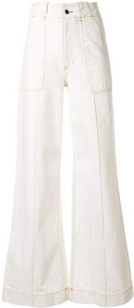 Tamuna Ingorokva ivette high-waisted trousers