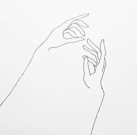 illustrated hands